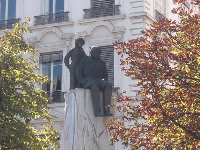 statue Saint Exupéry